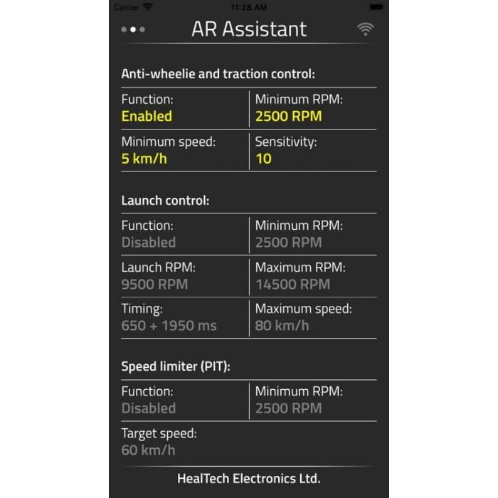 Healtech Advanced Rider Assistant System